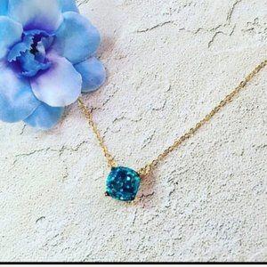***3/$20~Glitter Square Necklace***